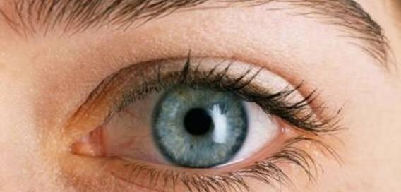 En la imagen observamos un ojo completamente normal, pues el glaucoma no da síntomas.