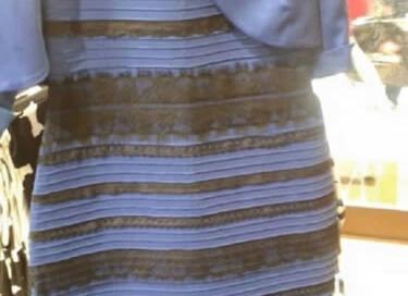 La famosa foto original de el Vestido