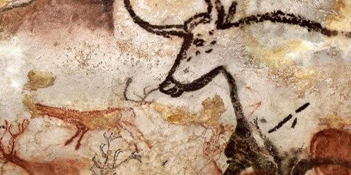 Algunos artes rupestres ya presentaban diseños en tres dimensiones sutilmente.